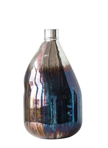 Warm Design Cam Balon Vazo Renkli